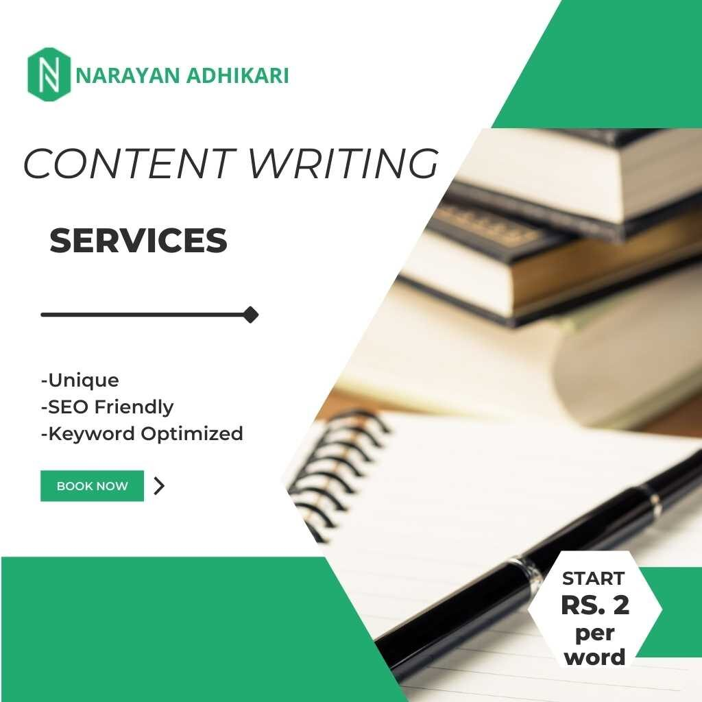Content Writing services in Nepal